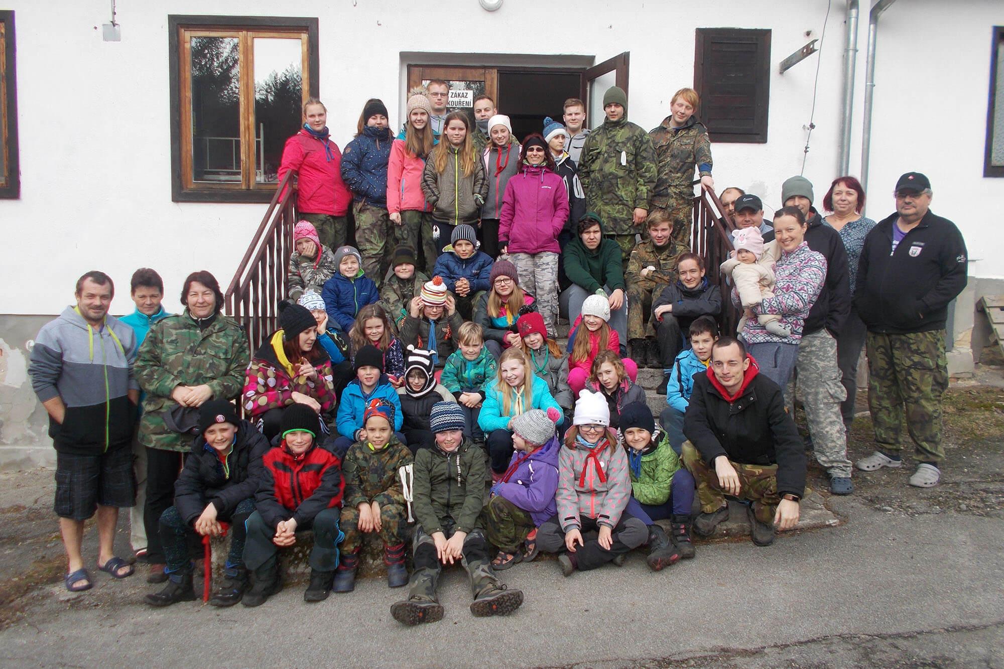 Zimní tábor Tokániště 2020 - přihlášky