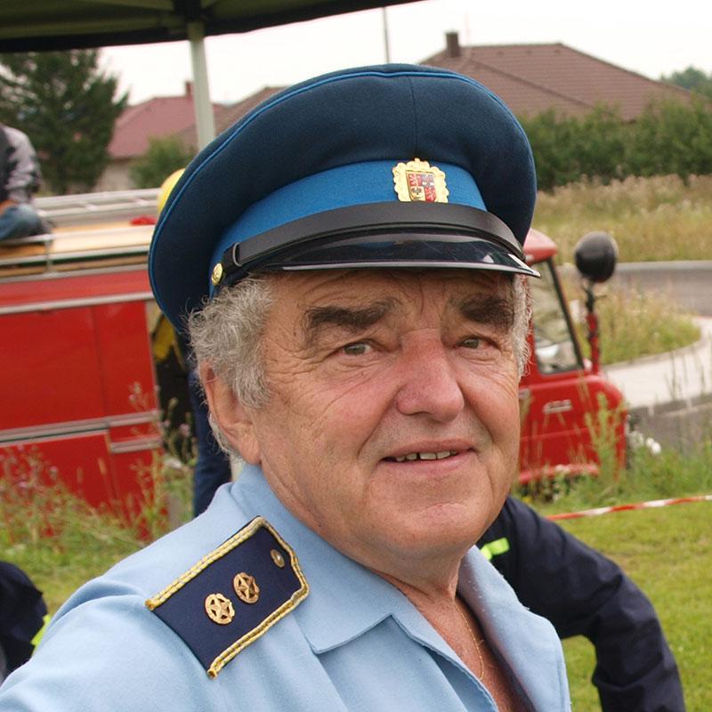 Jaroslav Pešek - starosta SDH Lišov